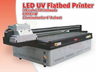 LED UV Flatbed Printer Toronto   Ricoh G5 Printhead