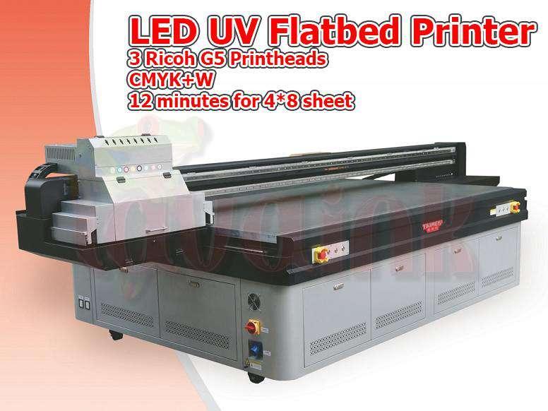 LED UV Flatbed Printer Toronto | Ricoh G5 Printhead