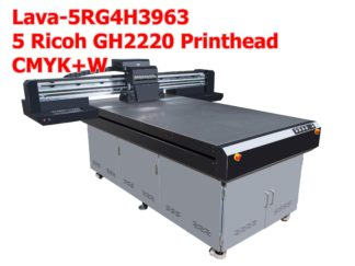 Small UV Flatbed Printer | Ricoh G4H2220 Printhead
